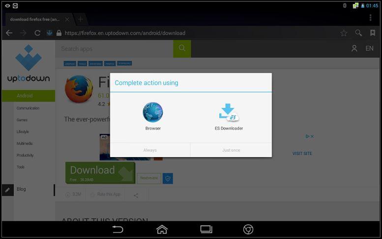 How to install Firefox brower   FCar Tech USA, LLC